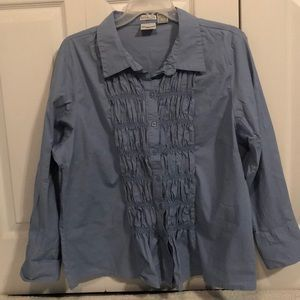 Periwinkle Button Down 276